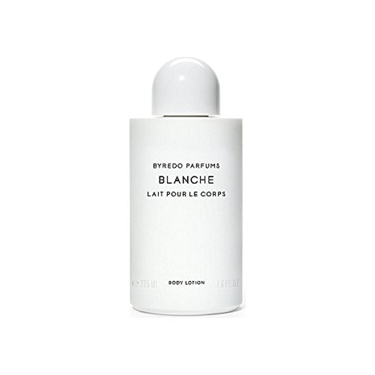 頑固なモロニック十億ブランシュボディローション225ミリリットル x4 - Byredo Blanche Body Lotion 225ml (Pack of 4) [並行輸入品]
