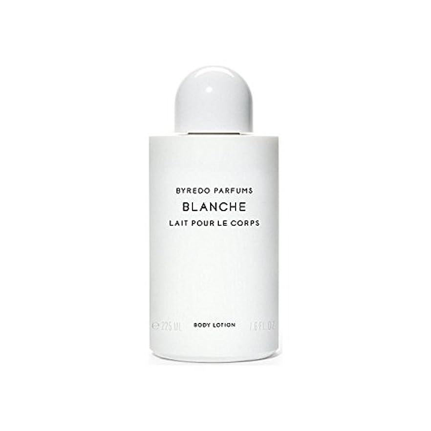 誰が追放するヘッジブランシュボディローション225ミリリットル x4 - Byredo Blanche Body Lotion 225ml (Pack of 4) [並行輸入品]