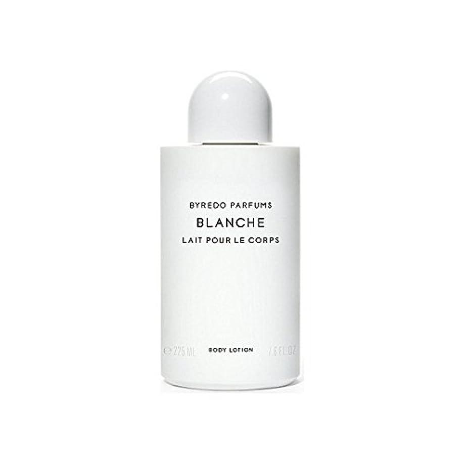 深遠瞬時に同盟ブランシュボディローション225ミリリットル x4 - Byredo Blanche Body Lotion 225ml (Pack of 4) [並行輸入品]