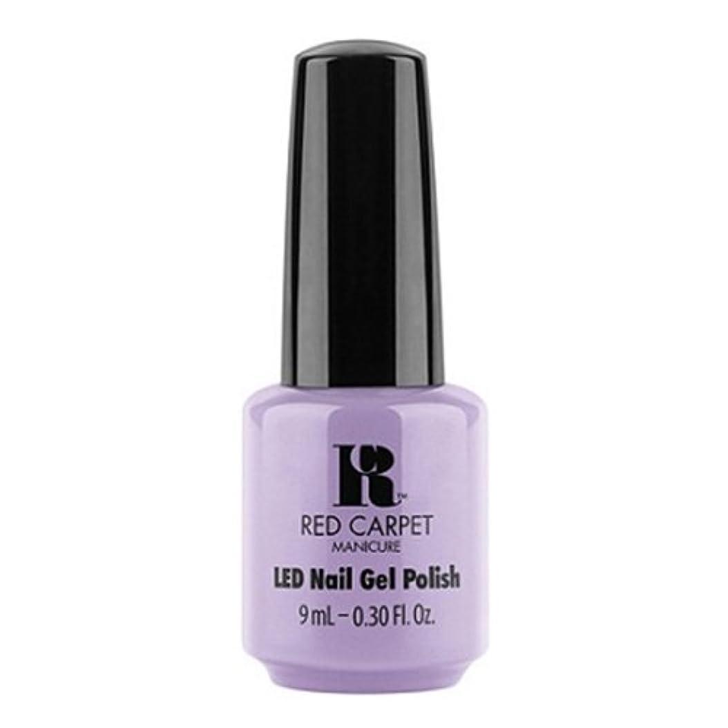 正当化するメルボルン死んでいるRed Carpet Manicure - LED Nail Gel Polish - PR Darling - 0.3oz / 9ml