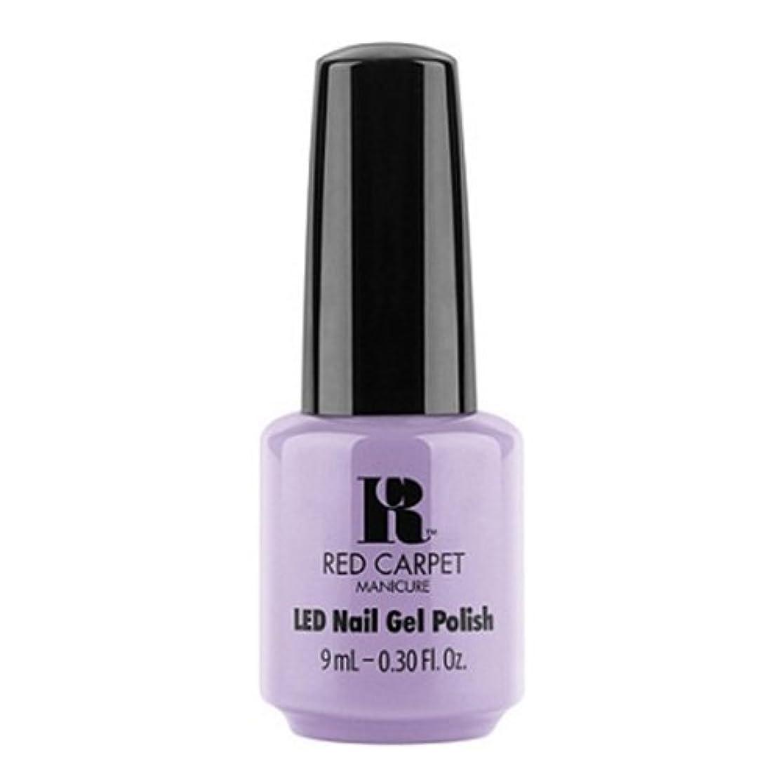 北米道徳乞食Red Carpet Manicure - LED Nail Gel Polish - PR Darling - 0.3oz / 9ml