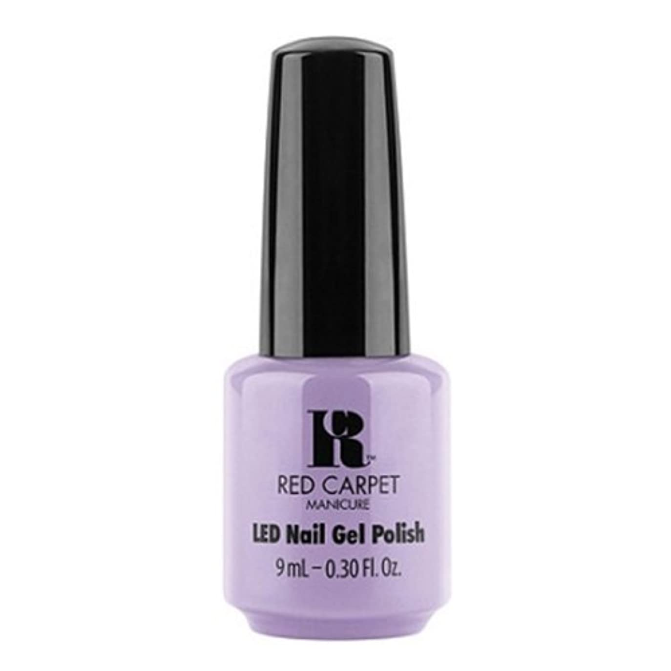 後退するおもしろい障害Red Carpet Manicure - LED Nail Gel Polish - PR Darling - 0.3oz / 9ml