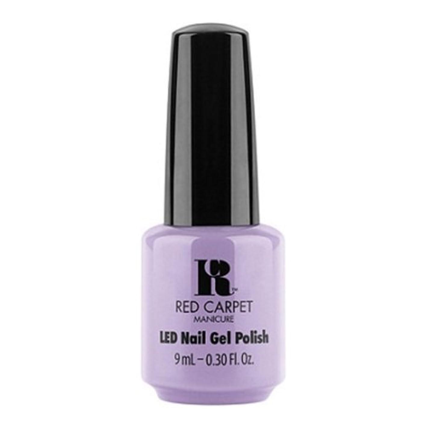 実り多い傾いたロボットRed Carpet Manicure - LED Nail Gel Polish - PR Darling - 0.3oz / 9ml