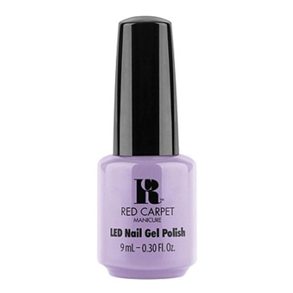 保安あたたかいクリアRed Carpet Manicure - LED Nail Gel Polish - PR Darling - 0.3oz / 9ml