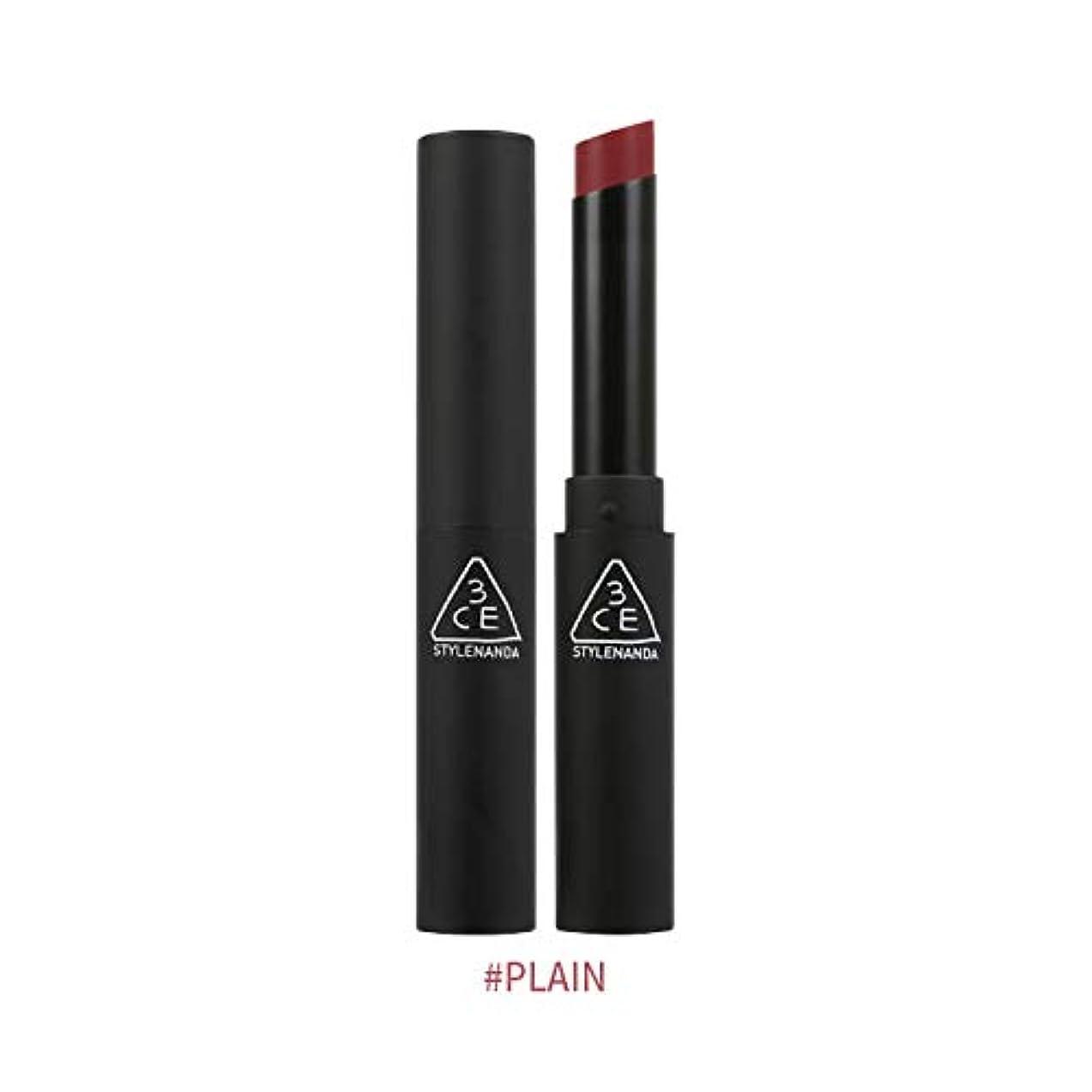 3CEスリムベルベットリップカラー Slim Velvet Lip Color (# PLAIN) [並行輸入品]