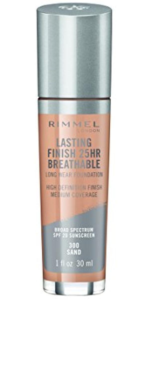 RIMMEL LONDON Lasting Finish 25hr Breathable Foundation - Sand (並行輸入品)