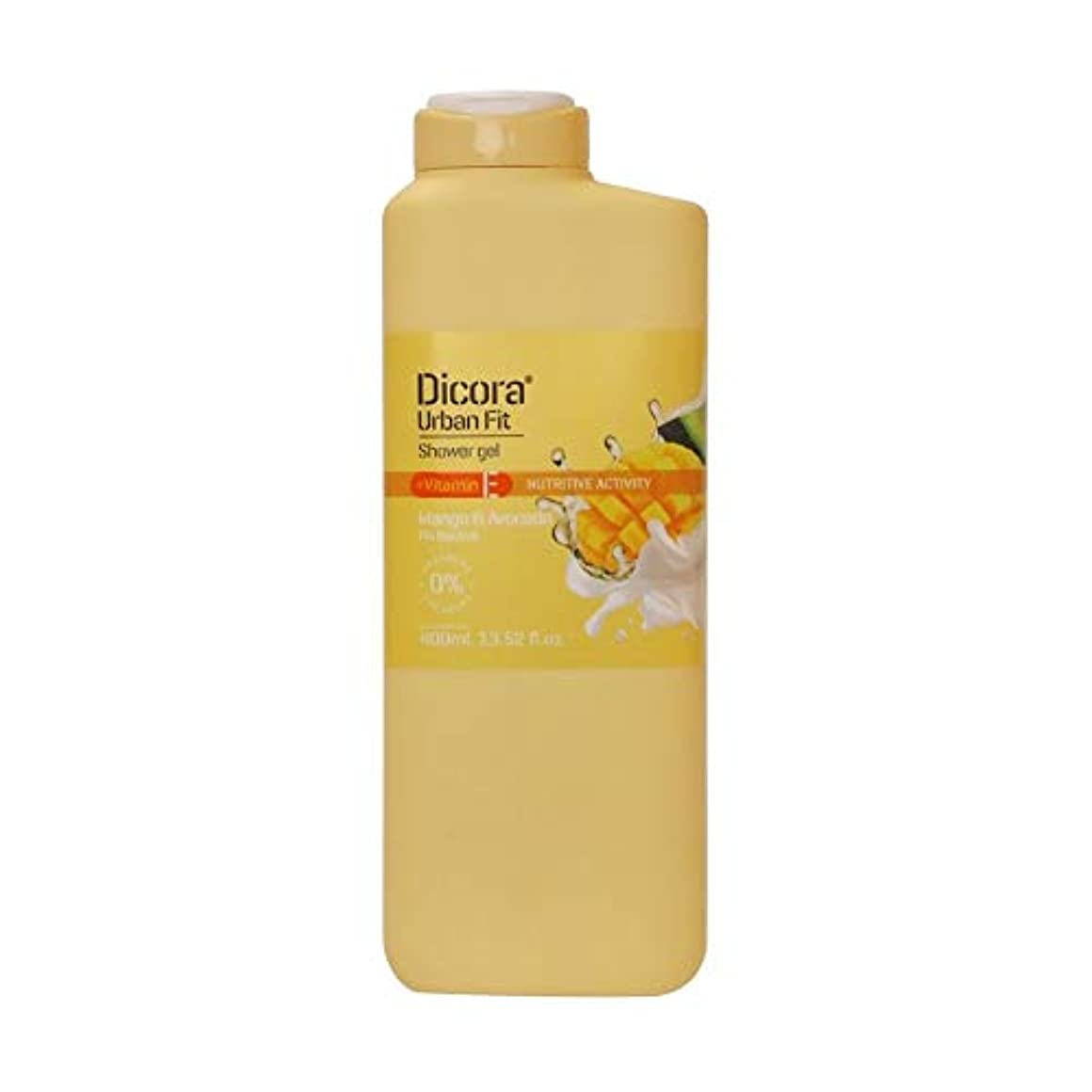文法腹痛クリームDicora(ディコラ) ディコラ アーバンフィット シャワージェル MK&ML 400ml ボディソープ マンゴー &アボカドの香り