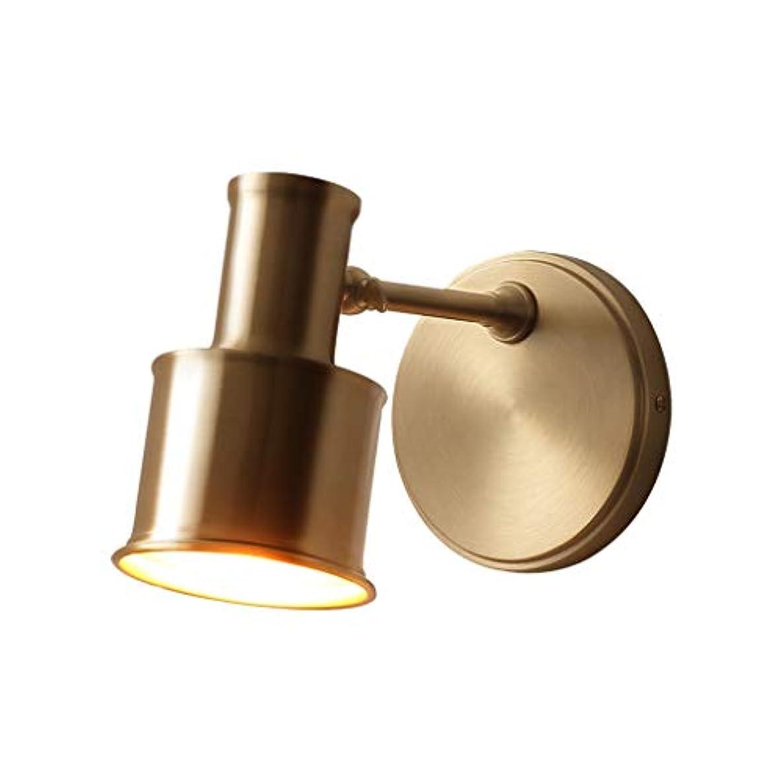 原告上流の暴露する北欧真鍮の壁ライトシンプルモダンウォールランプミラーフロントライトベッド装飾照明器具通路ベッドサイド照明器具寝室階段ミラーランプ