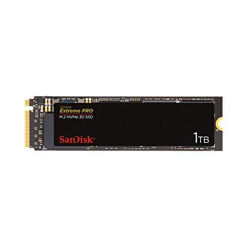 SanDisk 内蔵SSD M.2-2280 / 1TB / SSD Extreme Pro / PCIe Gen3 NVMe / 5年保証 /SDSSDXPM2-1T00-J25