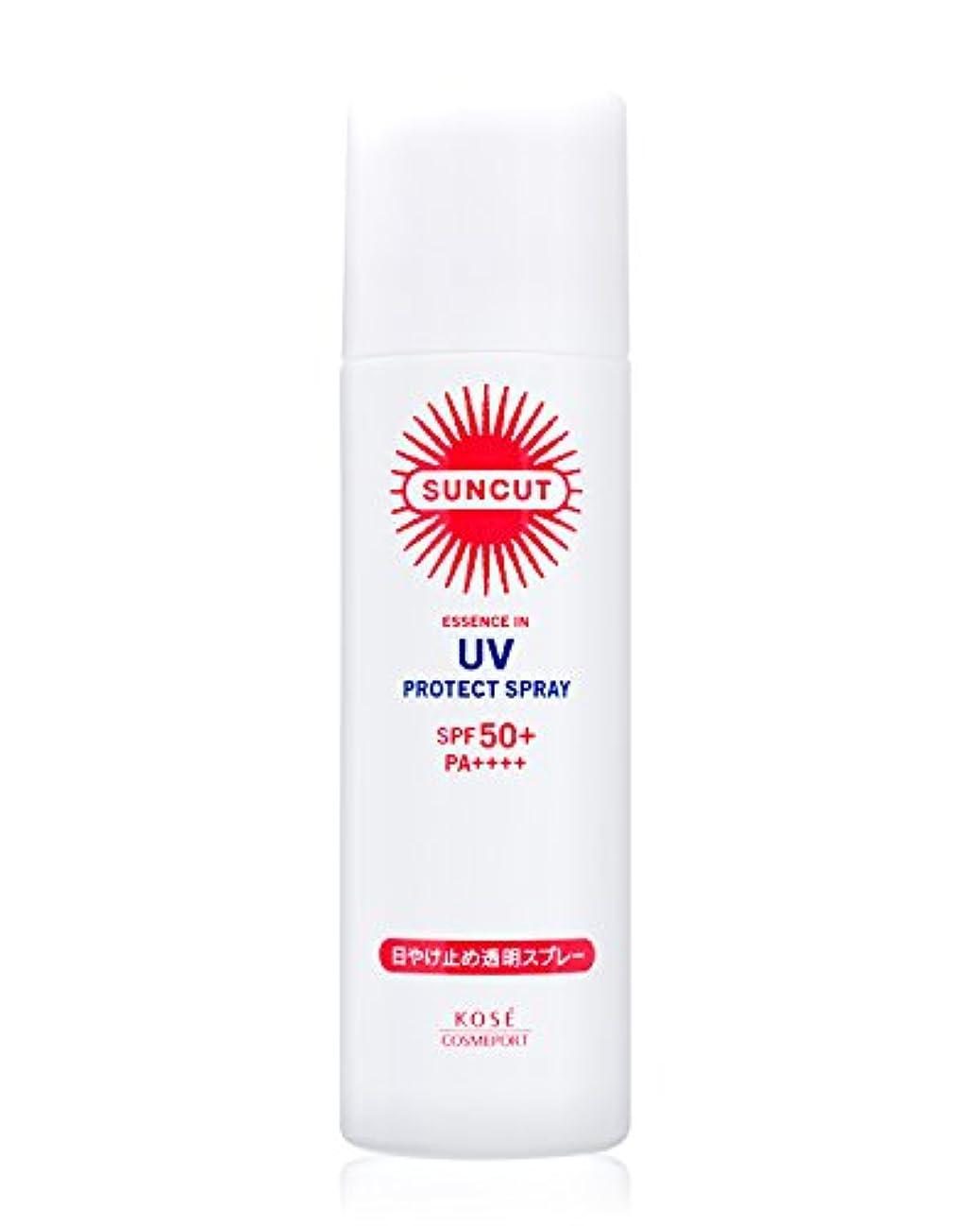 フィクションゴールデン寝室を掃除するKOSE サンカット 日やけ止め透明スプレー 無香料 SPF50+ PA++++ 50g