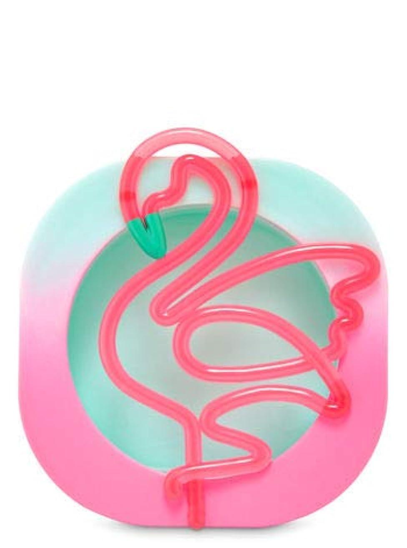 可動びっくり開発する【Bath&Body Works/バス&ボディワークス】 クリップ式芳香剤 セントポータブル ホルダー (本体ケースのみ) ネオンフラミンゴ Scentportable Holder Neon Flamingo [並行輸入品]