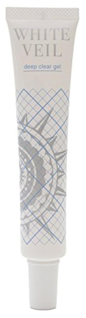 優先権表面的なフラップホワイトヴェール ディープクリアジェル 40g