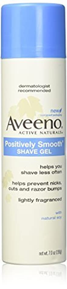 Aveeno Positively Smooth Shave Gel - 7 oz - 2 pk [並行輸入品]