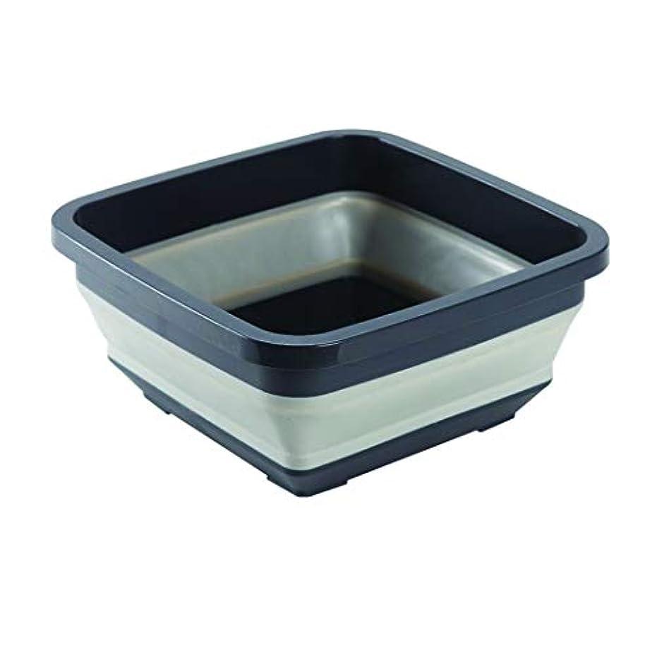 ショッピングセンター比較的普及BFC 折り畳み洗面器 洗い桶 収納 パディング式 多機能 家庭用 発泡足 洗濯 洗い可能 大容量 旅行用