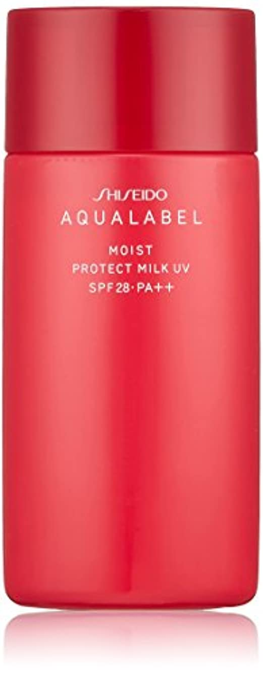 ブラウス飢急勾配のアクアレーベル モイストプロテクトミルクUV (日中用美容液) (SPF28?PA++) 50mL