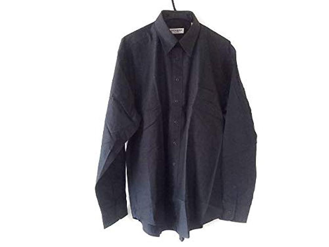 服を片付けるハプニング驚いた(イヴサンローラン) Yves Saint Laurent シャツ 長袖シャツ メンズ ダークネイビー 【中古】