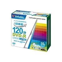 三菱ケミカル バーベイタム 録画用DVD-R 120分 ホワイトワイドプリンターブル 5mmスリムケース VHR12JP10V1 1パック(10枚) (×5セット)