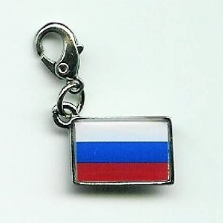 NATIONALFLAG 国旗柄ファスナーホルダー ロシア連邦 07164-2