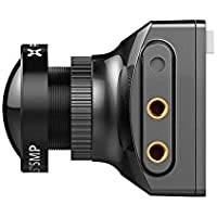 Foxeer Falkor 1200TVL FPVカメラ 1.8mm 4:3/16:9 PAL/NTSC G-WDR OSD ブラック