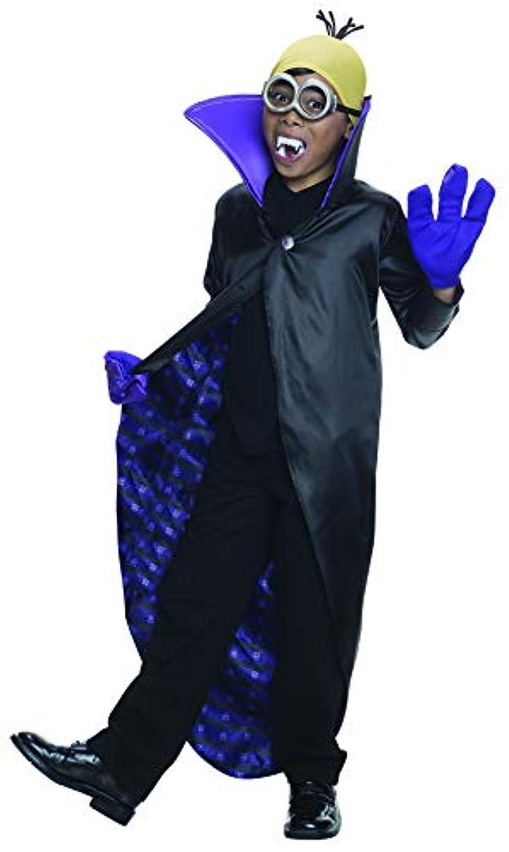 時間厳守暗唱する一貫性のないMinions Movie: Dracula Minion Child Costume 手下映画:ドラキュラミニオンチャイルドコスチューム?ハロウィン?サイズ:Small (4-6)