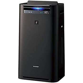 シャープ 加湿 空気清浄機 プラズマクラスター 25000 ハイグレード 16畳 / 空気清浄 31畳 PM2.5 モニター付 クラウド対応 グレー KI-HS70-H