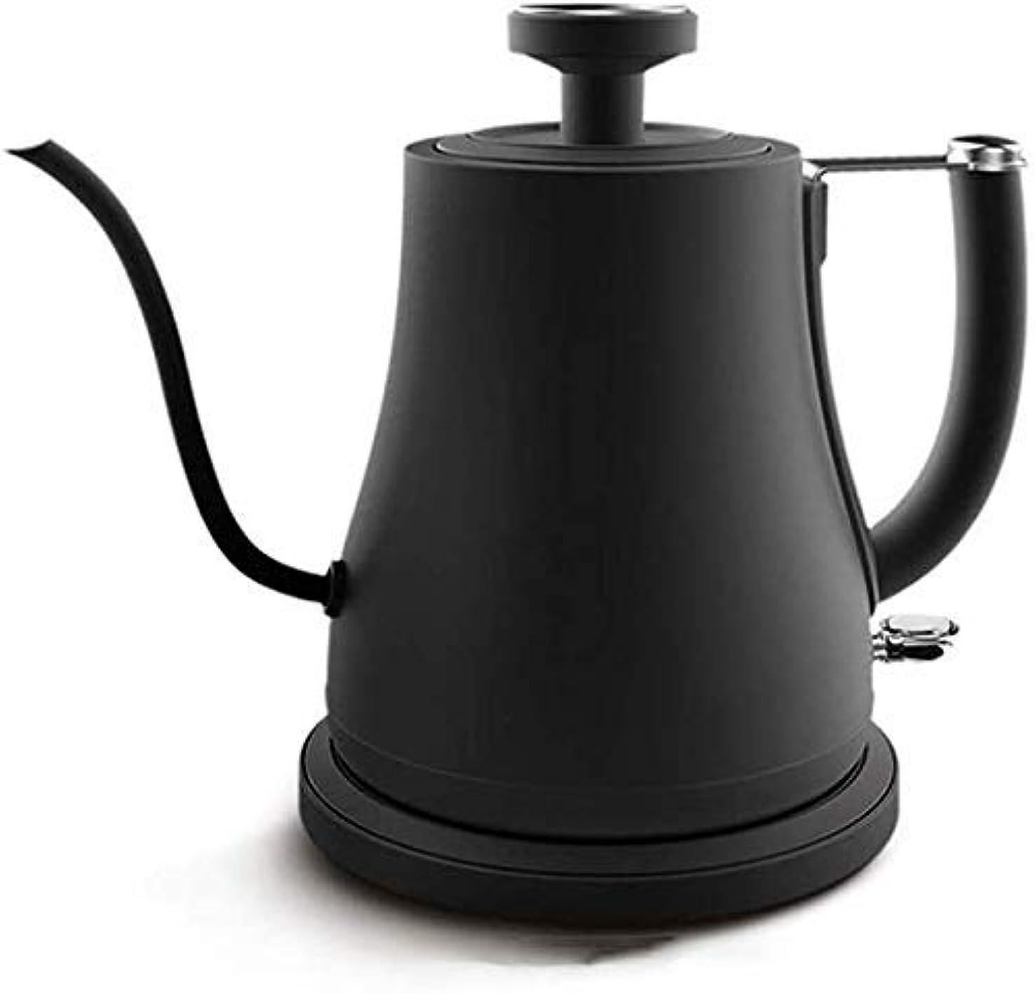 プレビュー賠償発掘するステンレス鋼のやかん、ティーポット、ステンレスケトル電気、1litres、800W、カワウソ自動シャットオフとボイルドライ保護、お茶やコーヒー醸造用湯沸かし器、1.7リットル[A-レベル。