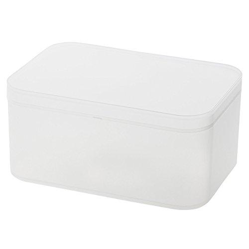 無印良品 ポリプロピレンメイクボックス・蓋付・大 (新)約150x220x1...