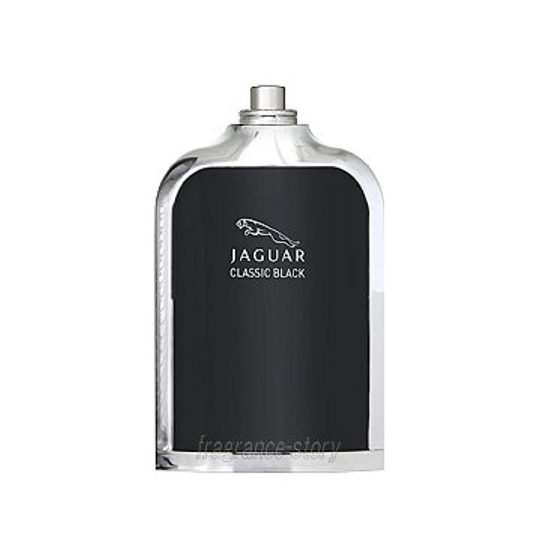 革新そして粘液【ジャガー】ジャガー クラシック ブラック (テスター) EDT?SP 100ml (並行輸入品)