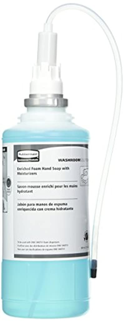 Rubbermaid Commercial FG750517 One Shot Enriched Foam Hand Soap with Moisturizer, Teal by Rubbermaid Commercial...