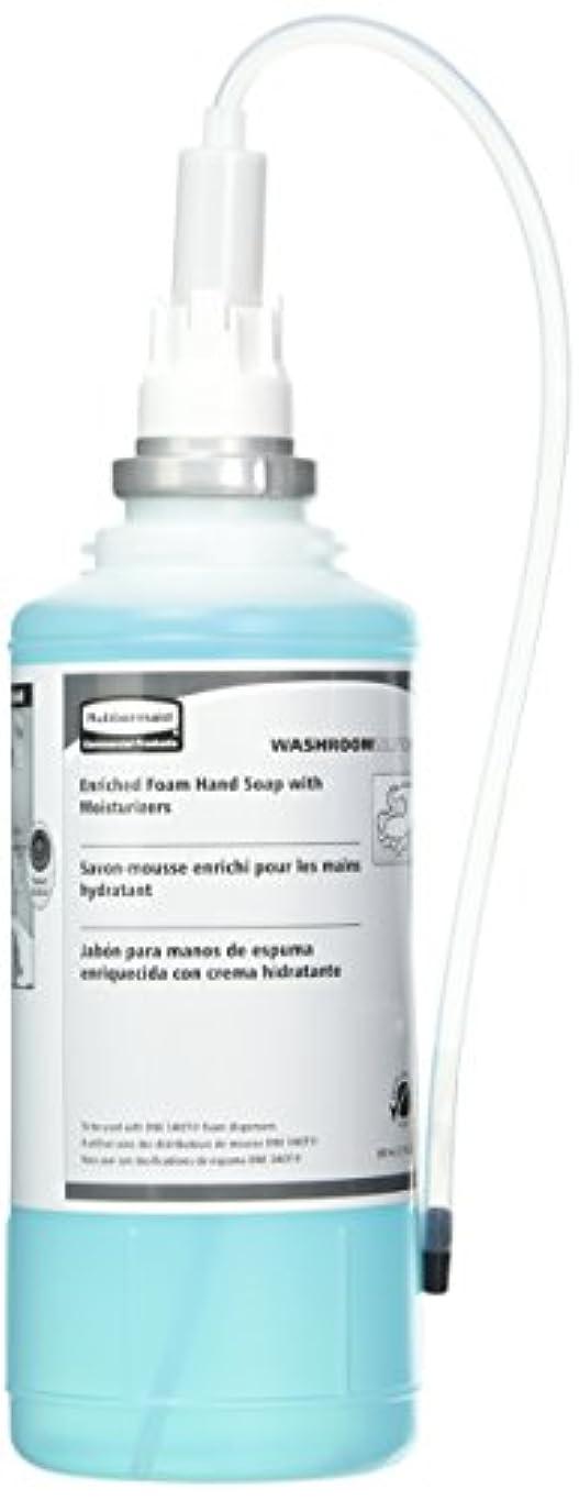 トランスペアレント恒久的舌なRubbermaid Commercial FG750517 One Shot Enriched Foam Hand Soap with Moisturizer, Teal by Rubbermaid Commercial...