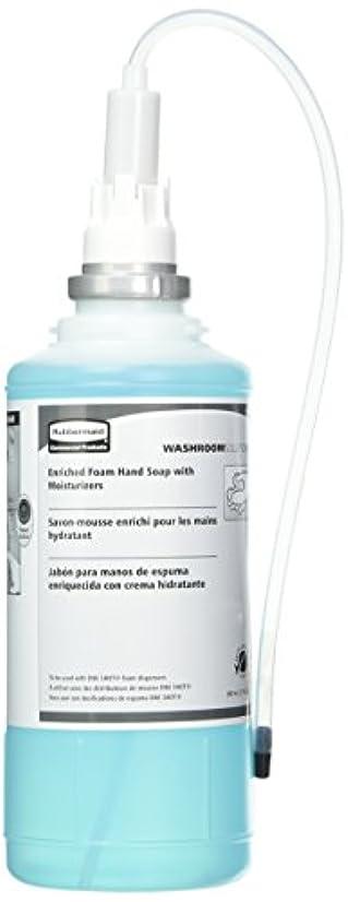 闘争説得生命体Rubbermaid Commercial FG750517 One Shot Enriched Foam Hand Soap with Moisturizer, Teal by Rubbermaid Commercial...