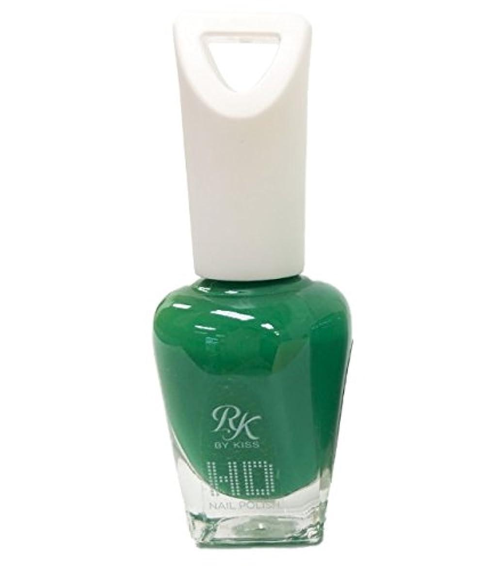 失態放課後酔ったKISS NEW YORK HDポリッシュ Why so green HDP65J