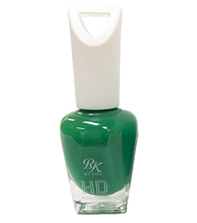 割り当てる一掃するフィットネスKISS NEW YORK HDポリッシュ Why so green HDP65J