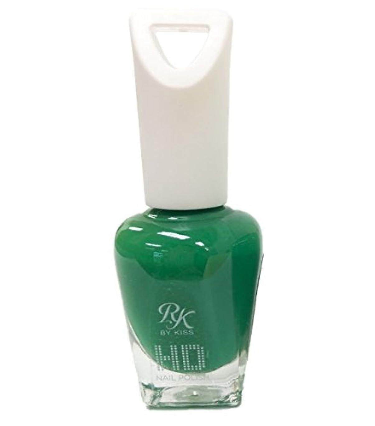 放射するシンボル取り扱いKISS NEW YORK HDポリッシュ Why so green HDP65J