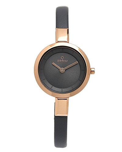 [オバック] OBAKU 腕時計 ウォッチ グレー×ローズゴ...