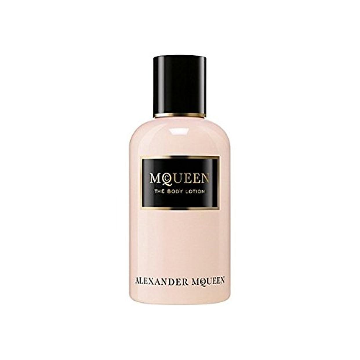ミュージカル保証金ホステスAlexander Mcqueen Amq Mcqueen Eau De Parfum Body Lotion 250ml - アレキサンダーマックイーンマックイーンオードパルファムボディローション250ミリリットル [...