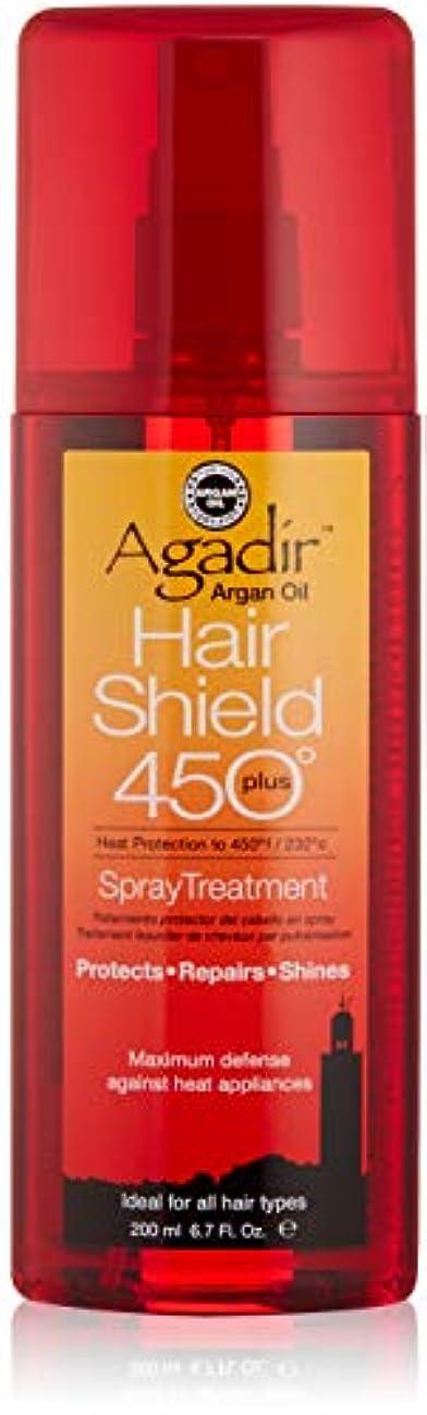 変えるアラブ人手綱アガディール Hair Shield 450 Plus Spray Treatment (For All Hair Types) 200ml