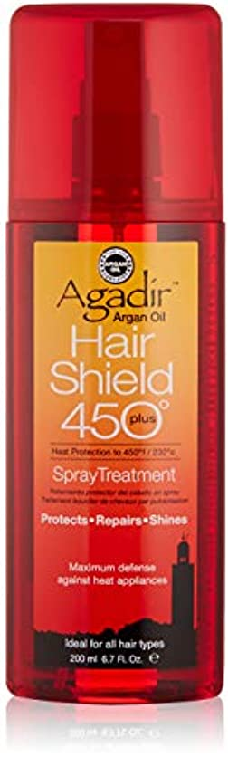 入植者静脈砲撃アガディール Hair Shield 450 Plus Spray Treatment (For All Hair Types) 200ml