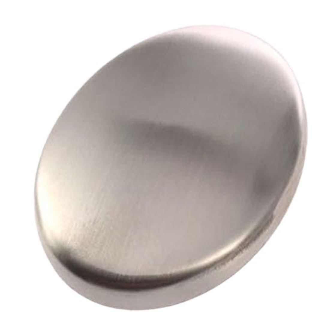 前奏曲チャンピオンシップ作り上げるZafina ステンレスソープ 円形 においとりソープ 臭い取り ステンレス石鹸