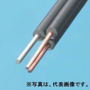 伸興電線 ★切売販売★ 鋼心入屋外線 0.65mm 1m単位切り売り 灰色 TOV-SS1.2×0.65×1P