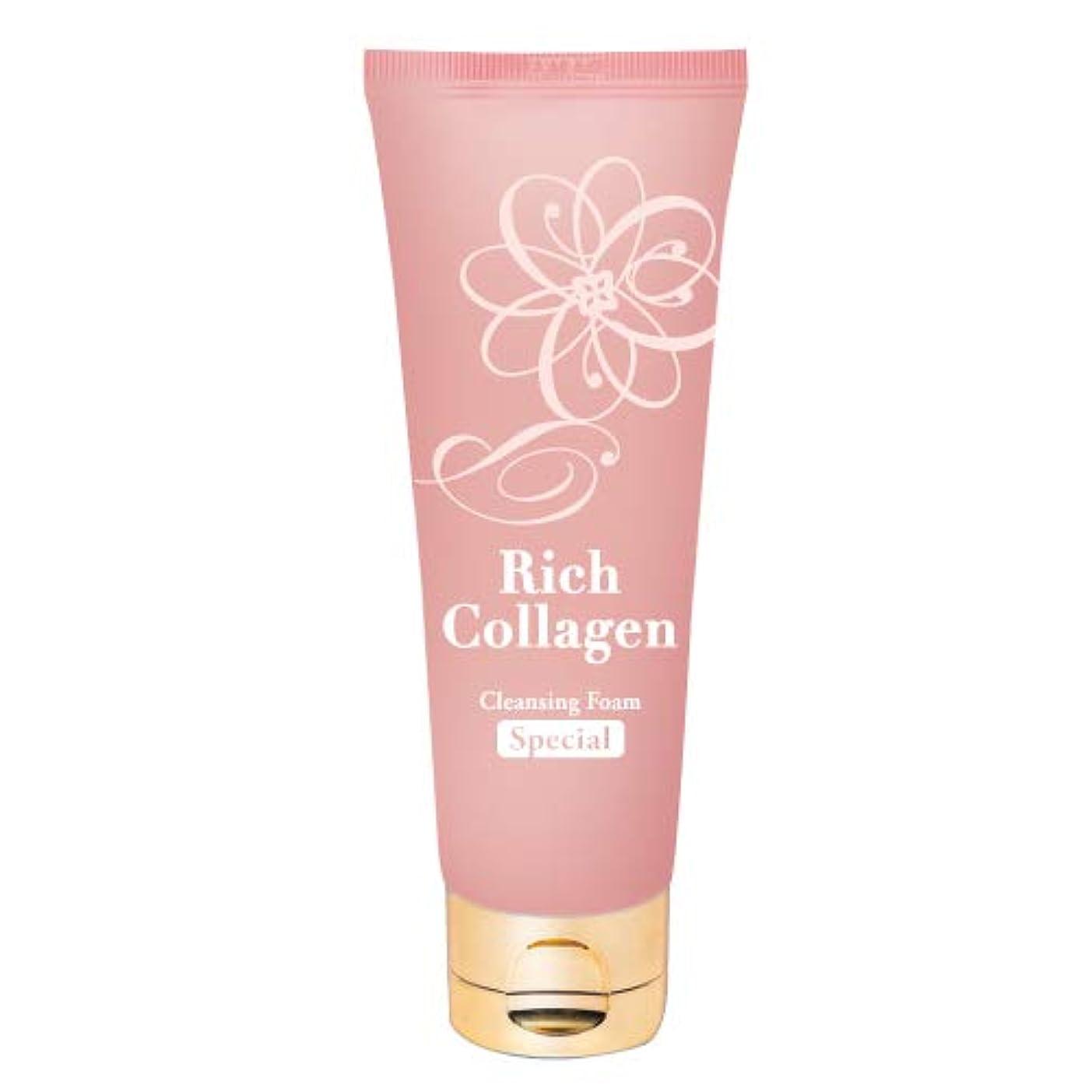 リッチ生 コラーゲン もっちり 洗顔フォーム 100g