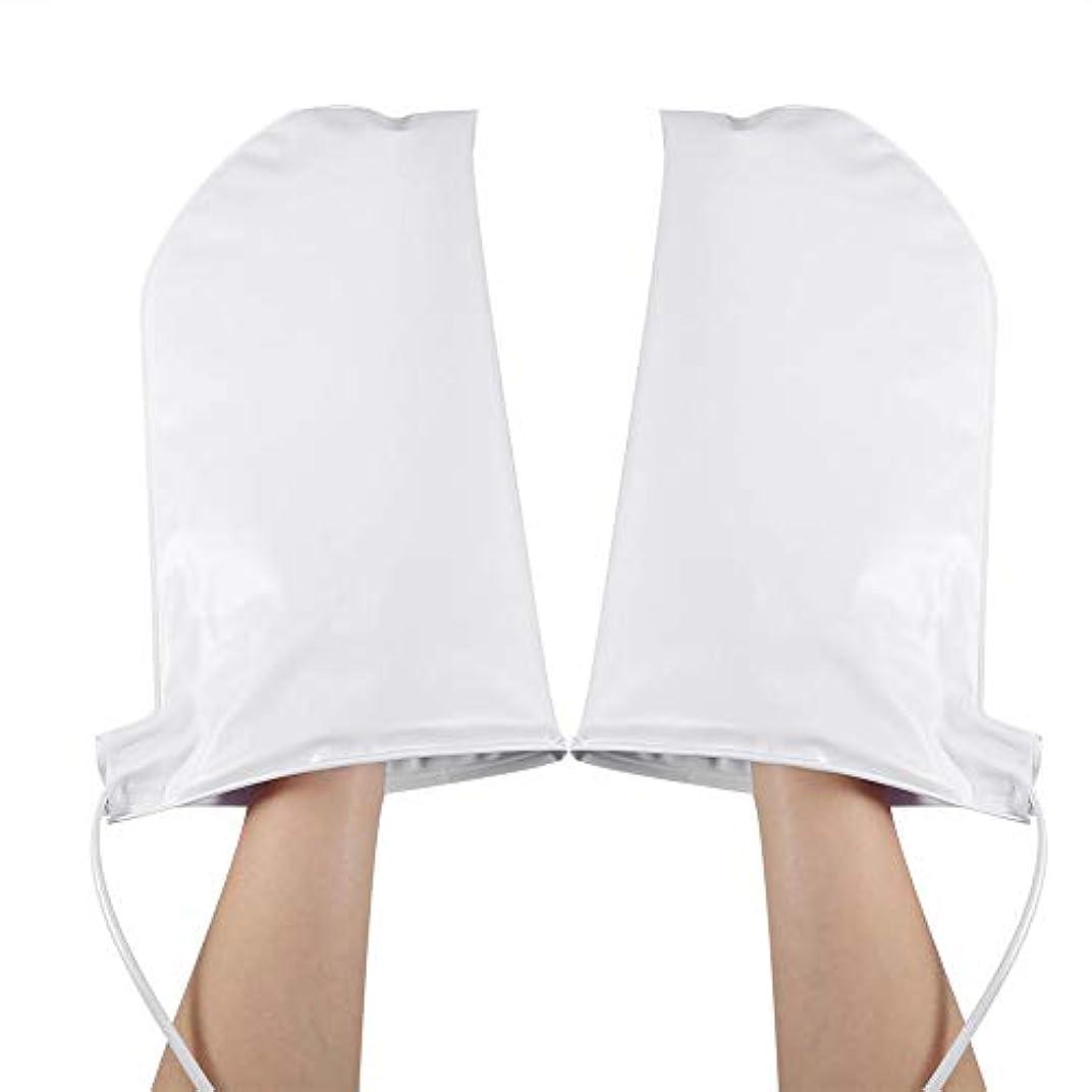 翻訳やろう窓を洗うパラフィンワックス療法マニキュアSPA治療ハンドケアミトン、ペア加熱ミットの治療加熱ミット