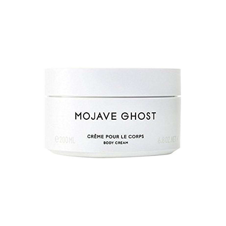 保守可能悲観主義者乗り出すByredo Mojave Ghost Body Cream 200ml (Pack of 6) - モハーベゴーストボディクリーム200ミリリットル x6 [並行輸入品]