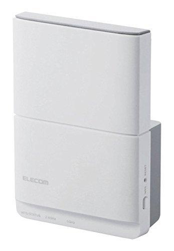 エレコム WiFi 無線LAN 中継器 11ac/n/a/g/b 867+300Mbps コンセント直挿し WTC-1167HWH