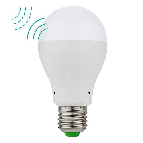 Minger LED電球 搭載レーダー探知機 E26/E27口金 40W形相当 電球色 明暗&人感セ...