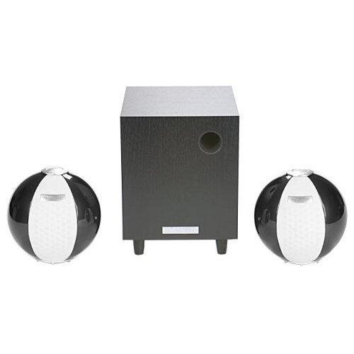 HANNspree Circus 2.1 Channel Speaker System - Dark Silver (KS05-21U1-001) [並行輸入品]
