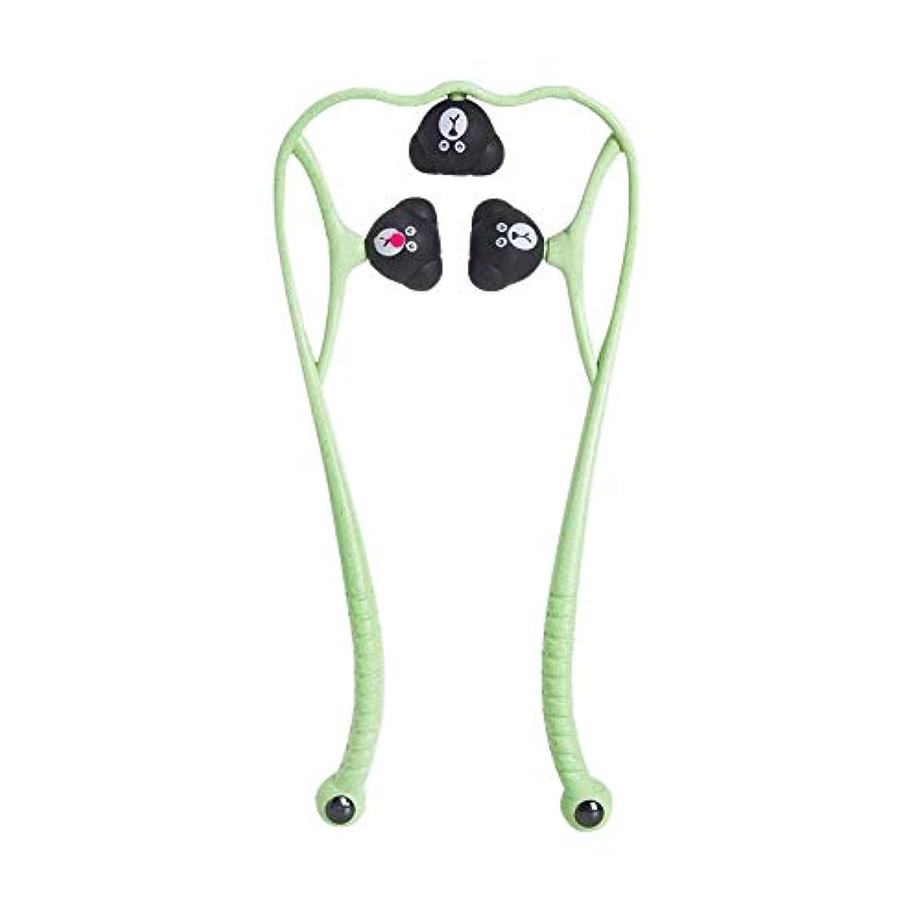 床場所バーガー手動頚椎マッサージ器肩頸マッサージボールの痛み解消用品