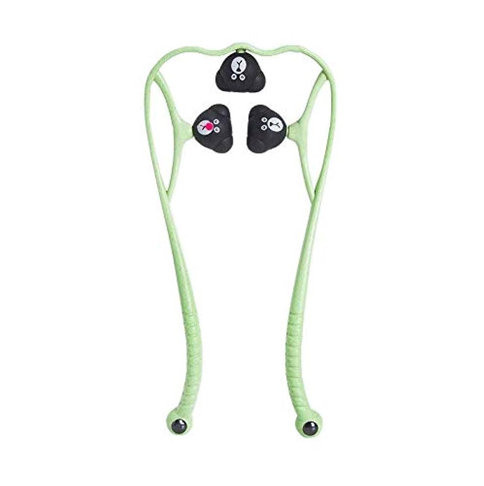 める誓約約手動頚椎マッサージ器肩頸マッサージボールの痛み解消用品