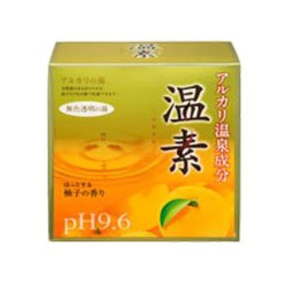 ポゴスティックジャンプ嫌がらせ下に向けます【アース製薬】温素 柚子の香り 30g×15包 ×10個セット