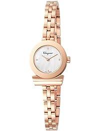[フェラガモ]Ferragamo 腕時計 ガンチーニブレスレット ホワイトパール文字盤 FBF080017 レディース 【並行輸入品】